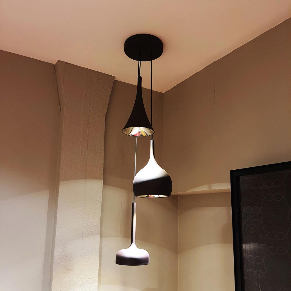 Beat Tall Pendant Lights by Tom Dixon | FCI Clearance