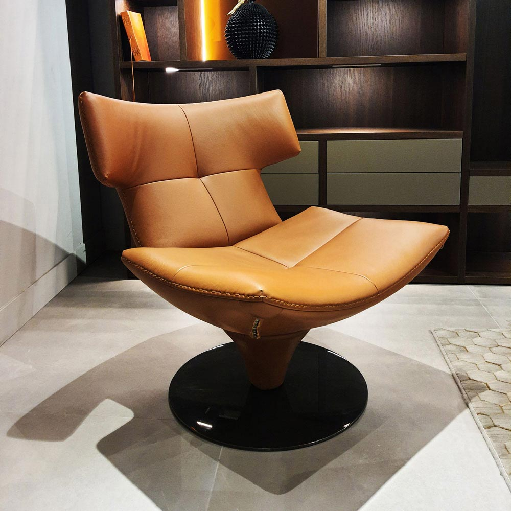 Harley Revolving Armchair by Gamma & Dandy | FCI Clearance