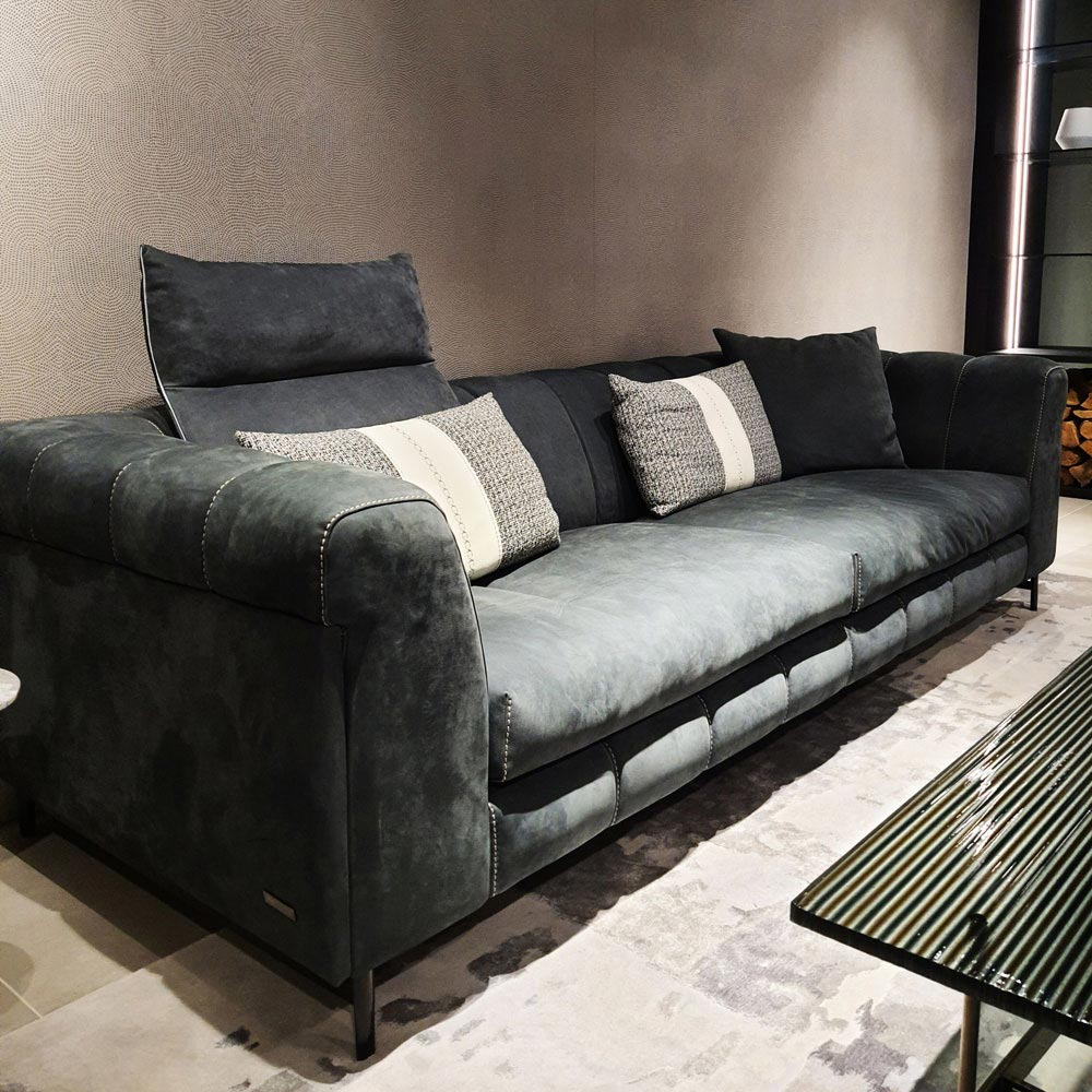 Nautilius 3 Seater Sofa by Gamma & Dandy | FCI Clearance