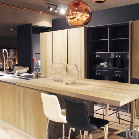 Oak Kitchen by fci