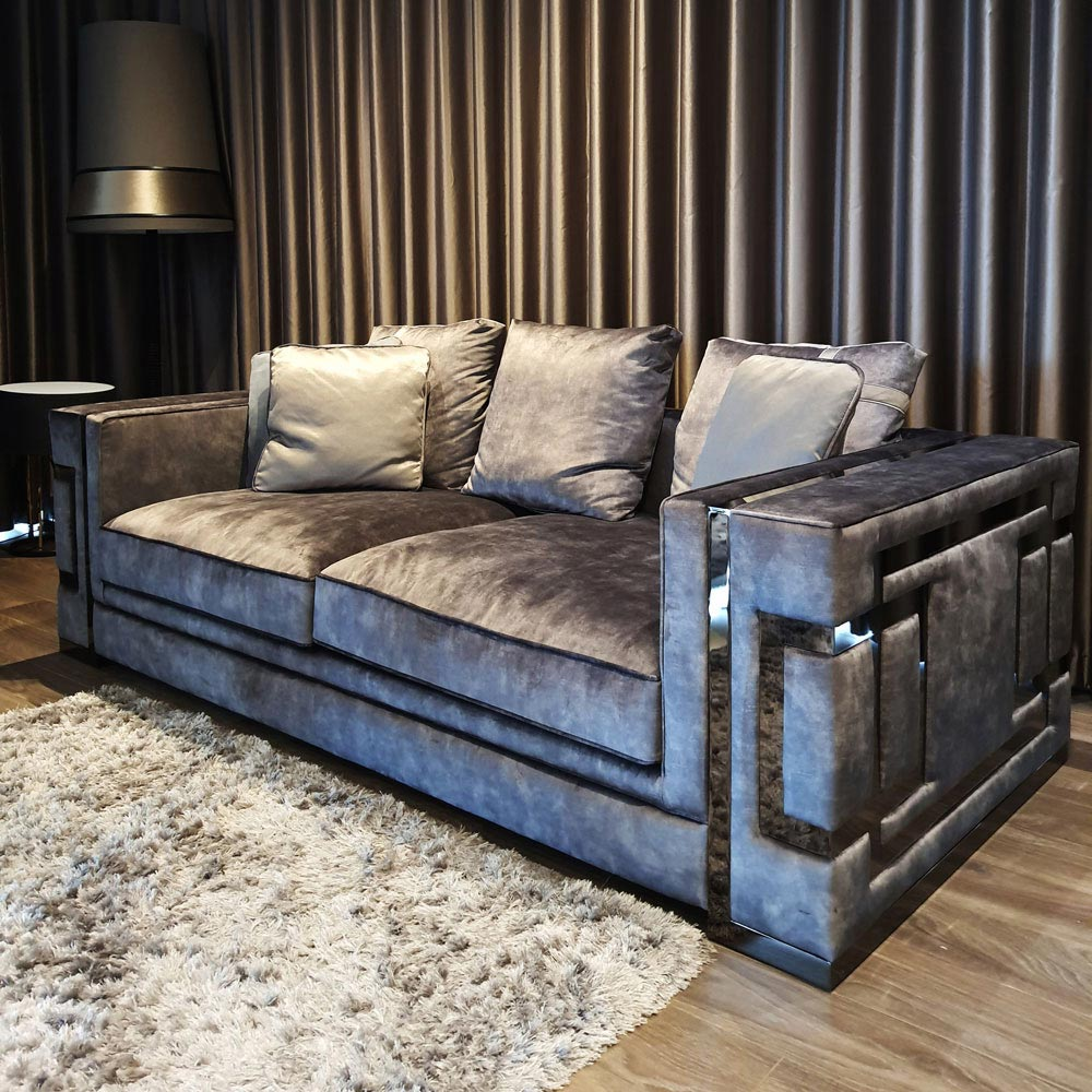 Vertigo 2.5 Seater Sofa by Silvano Luxury | FCI Clearance