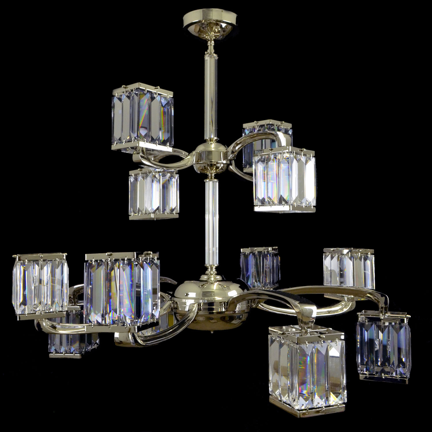 Amber Crystal Chandelier | FCI Custom Lighting