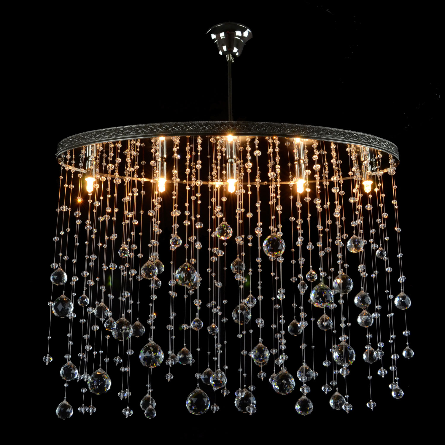 Ambrose Crystal Chandelier | FCI Custom Lighting