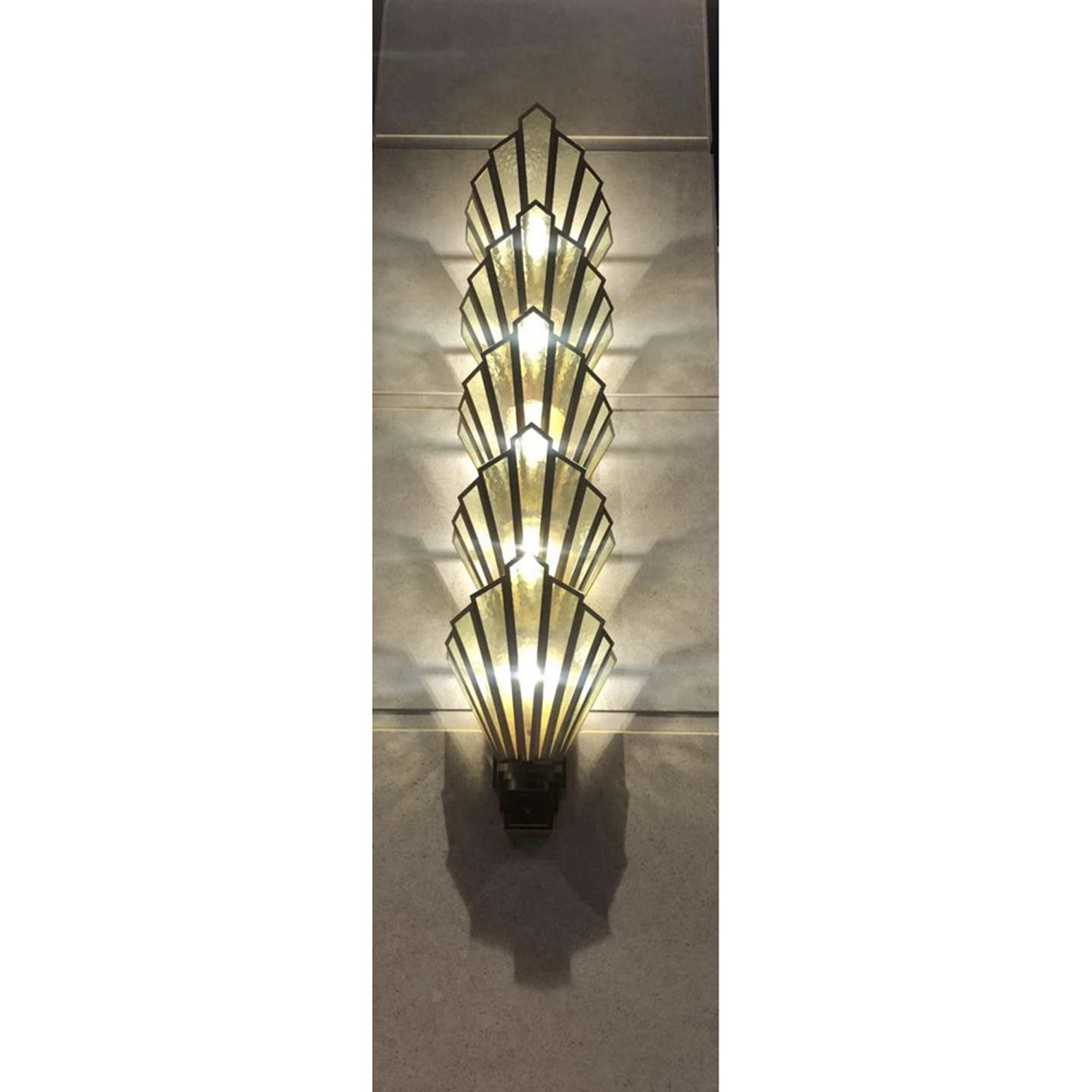 Art Deco Wall sconce Chandelier | FCI Custom Lighting