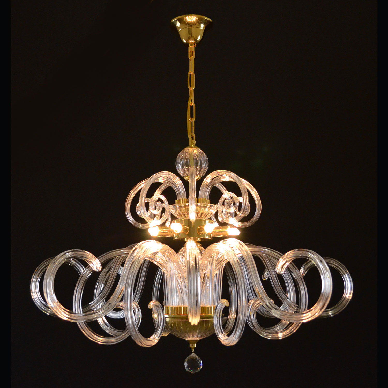 Athena Chandelier | FCI Custom Lighting