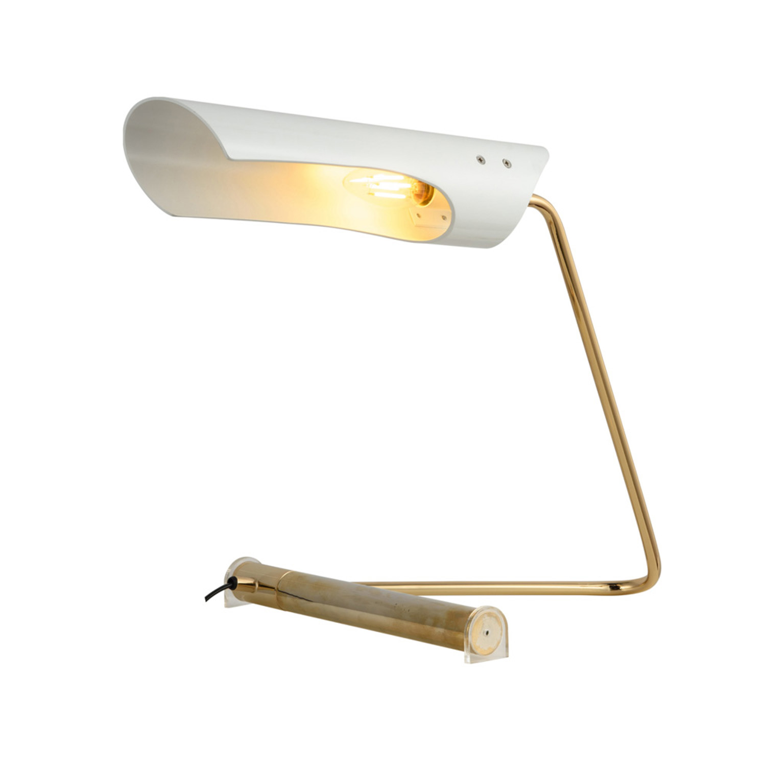 Bjorn White Desk Lamp | FCI Custom Lighting