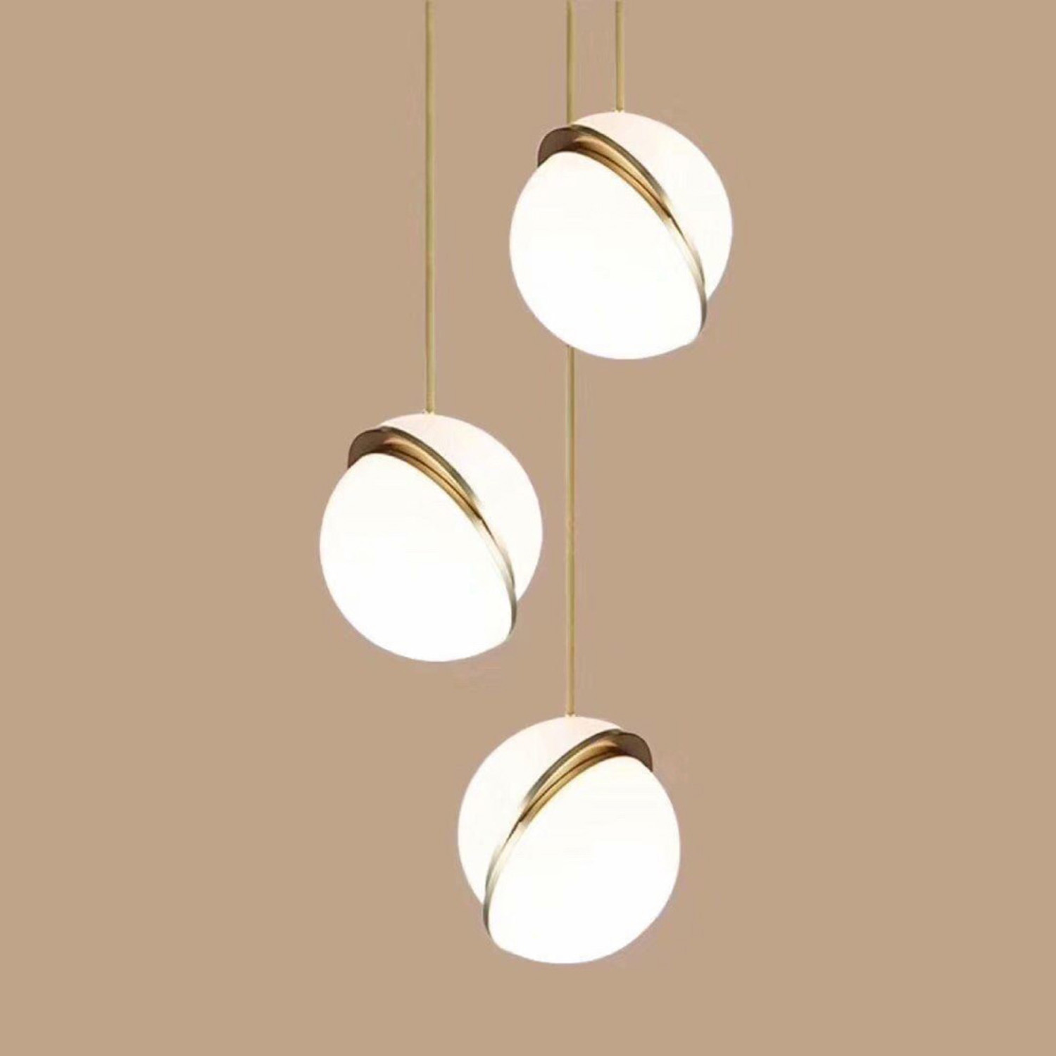 Bolle Pendant Chandelier | FCI Custom Lighting