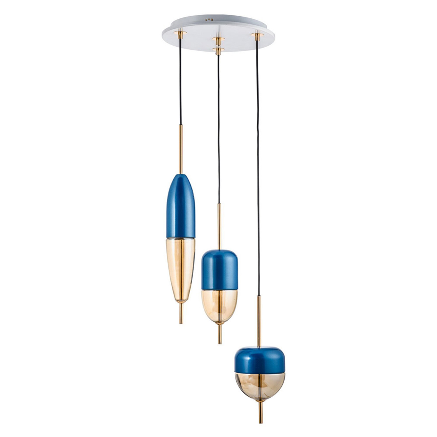 Bullet Blue Pendant Lamp | FCI Custom Lighting