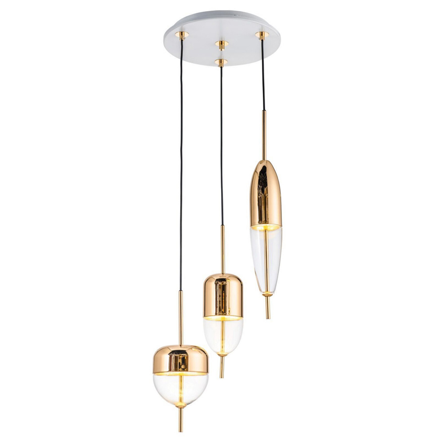 Bullet Brass Pendant Lamp | FCI Custom Lighting