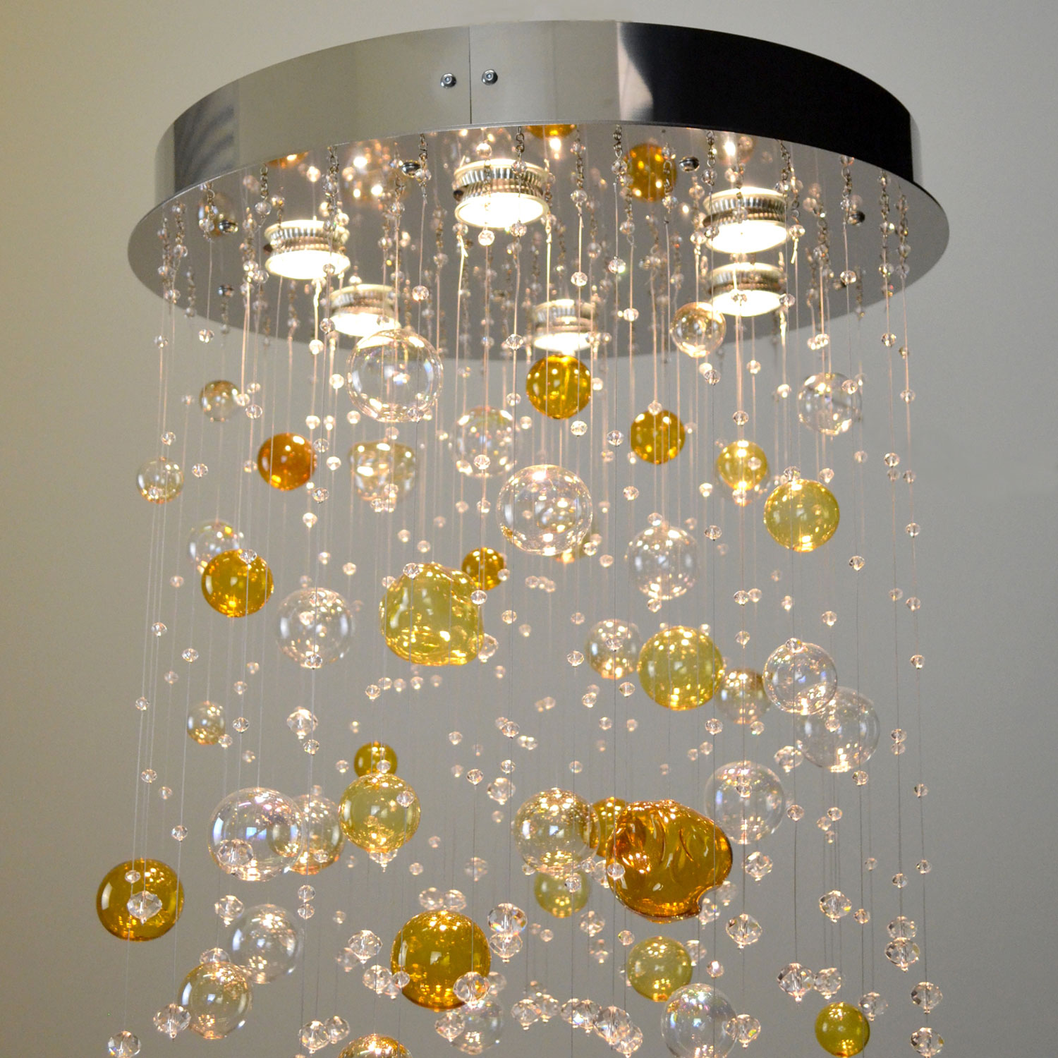Cronus Crystal Chandelier | FCI Custom Lighting
