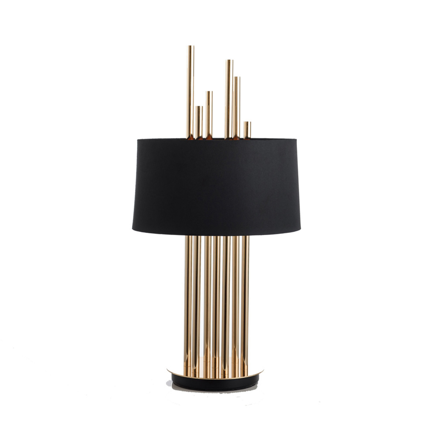 Flamingo Black Table Lamp | FCI Custom Lighting