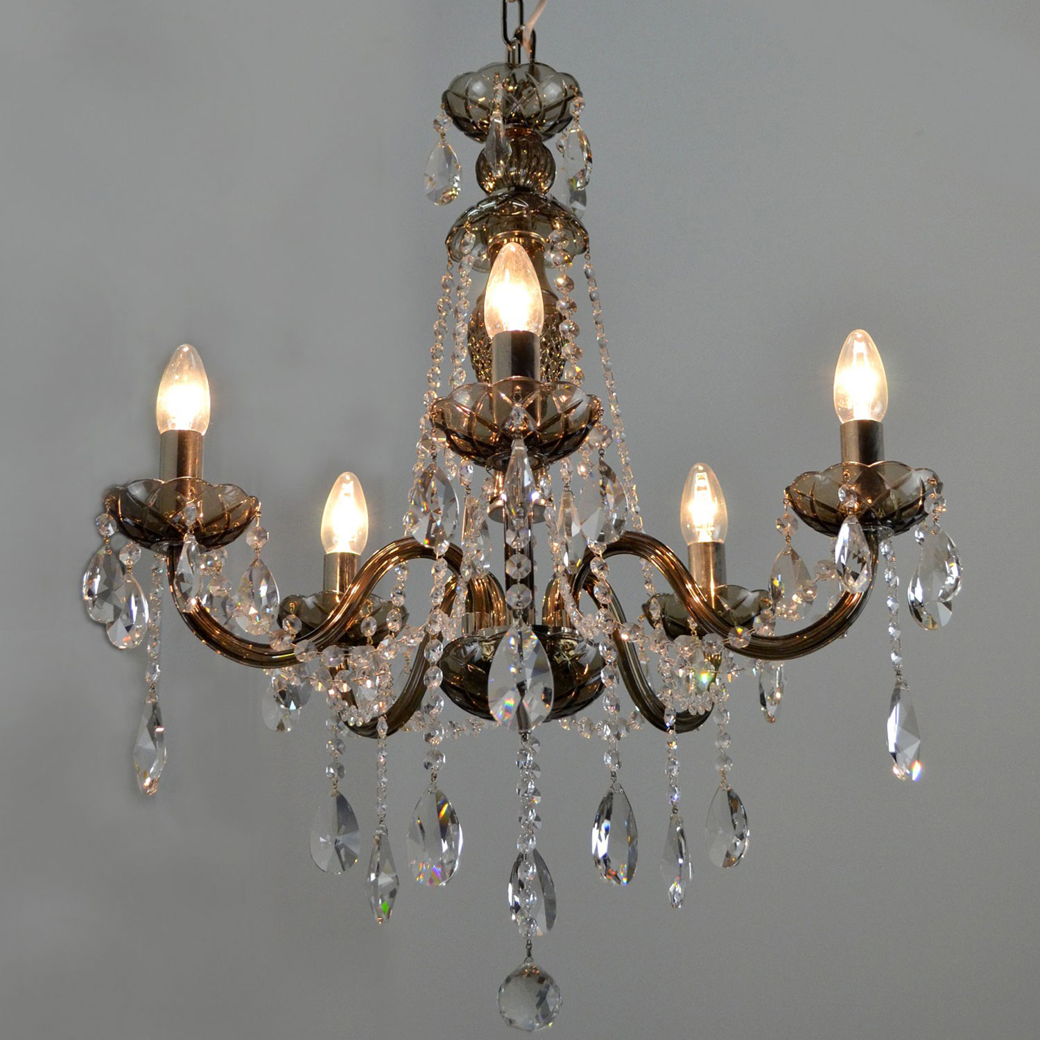 Gris Crystal Chandelier | FCI Custom Lighting