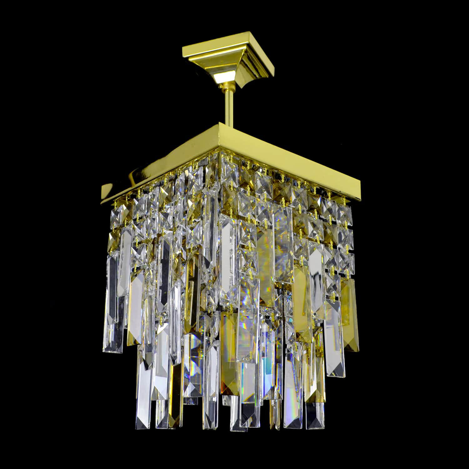 Lanterna D'oro Di Crystal Chandelier | FCI Custom Lighting