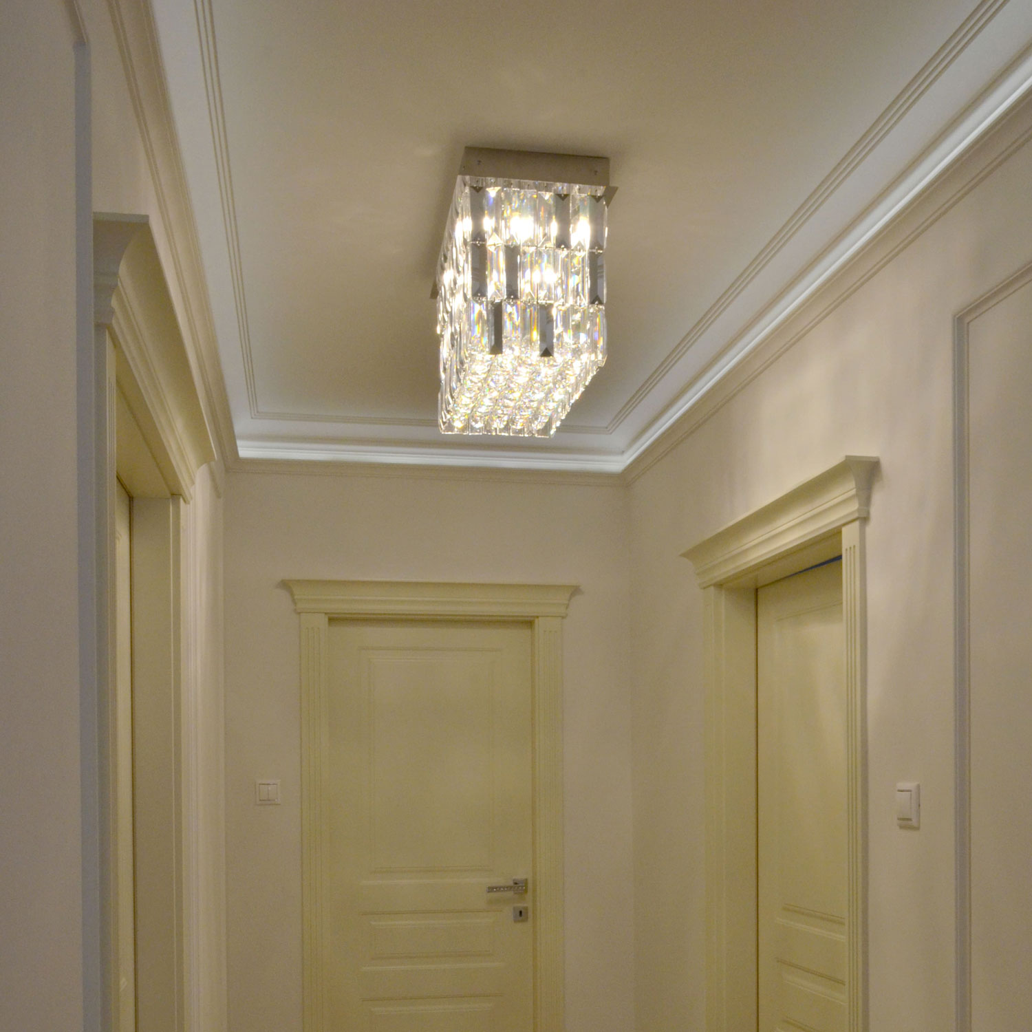 Lullaby Crystal Chandelier | FCI Custom Lighting