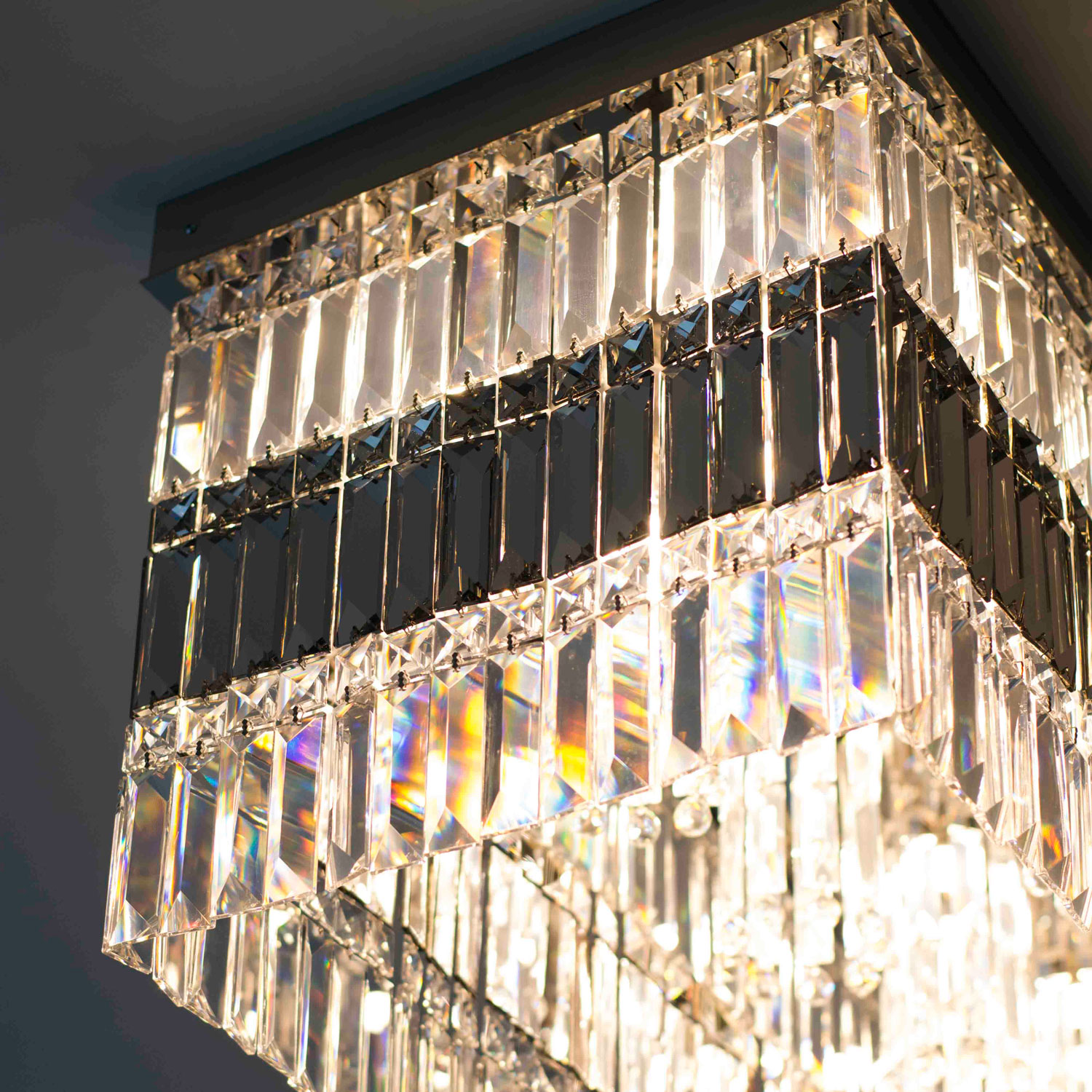 Manhattan Crystal Chandelier | FCI Custom Lighting