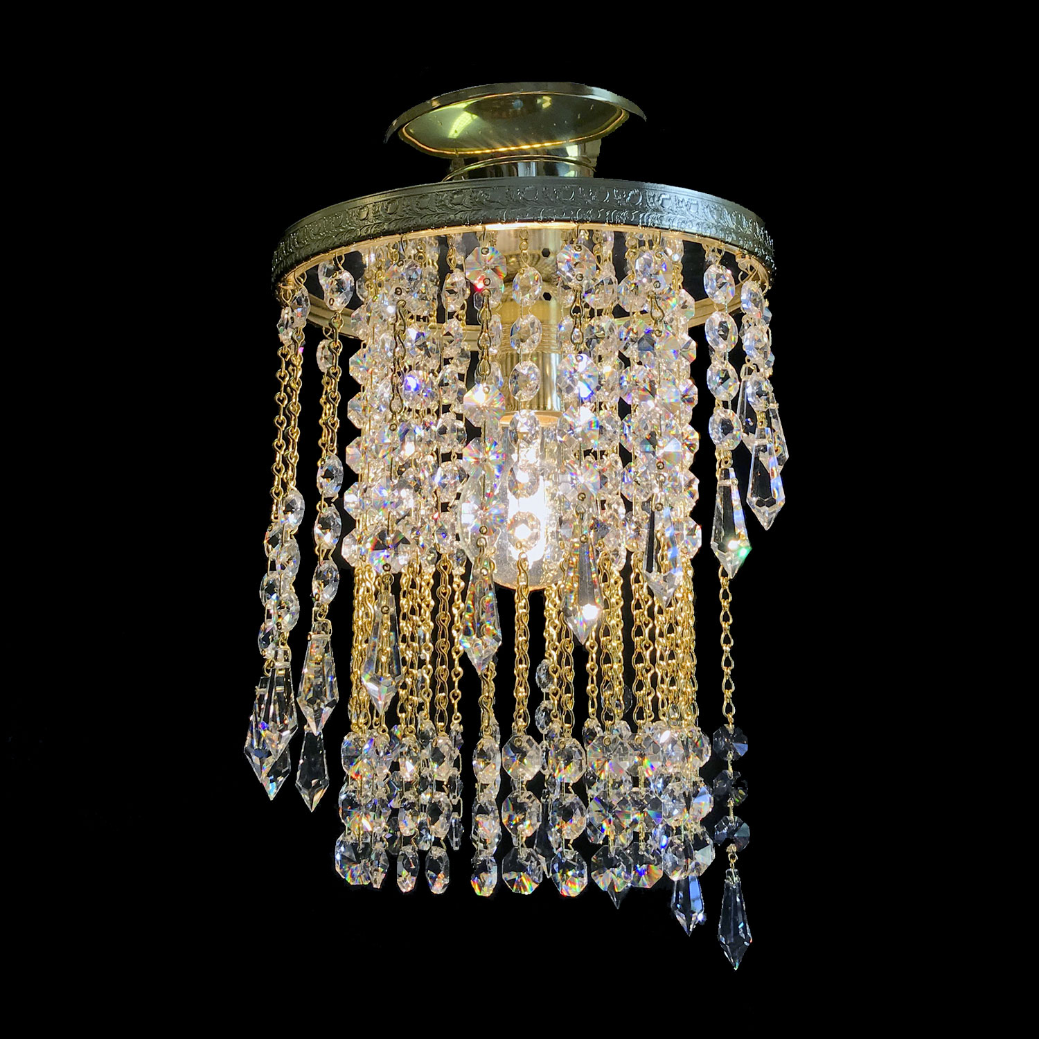 Nice Crystal Chandelier | FCI Custom Lighting