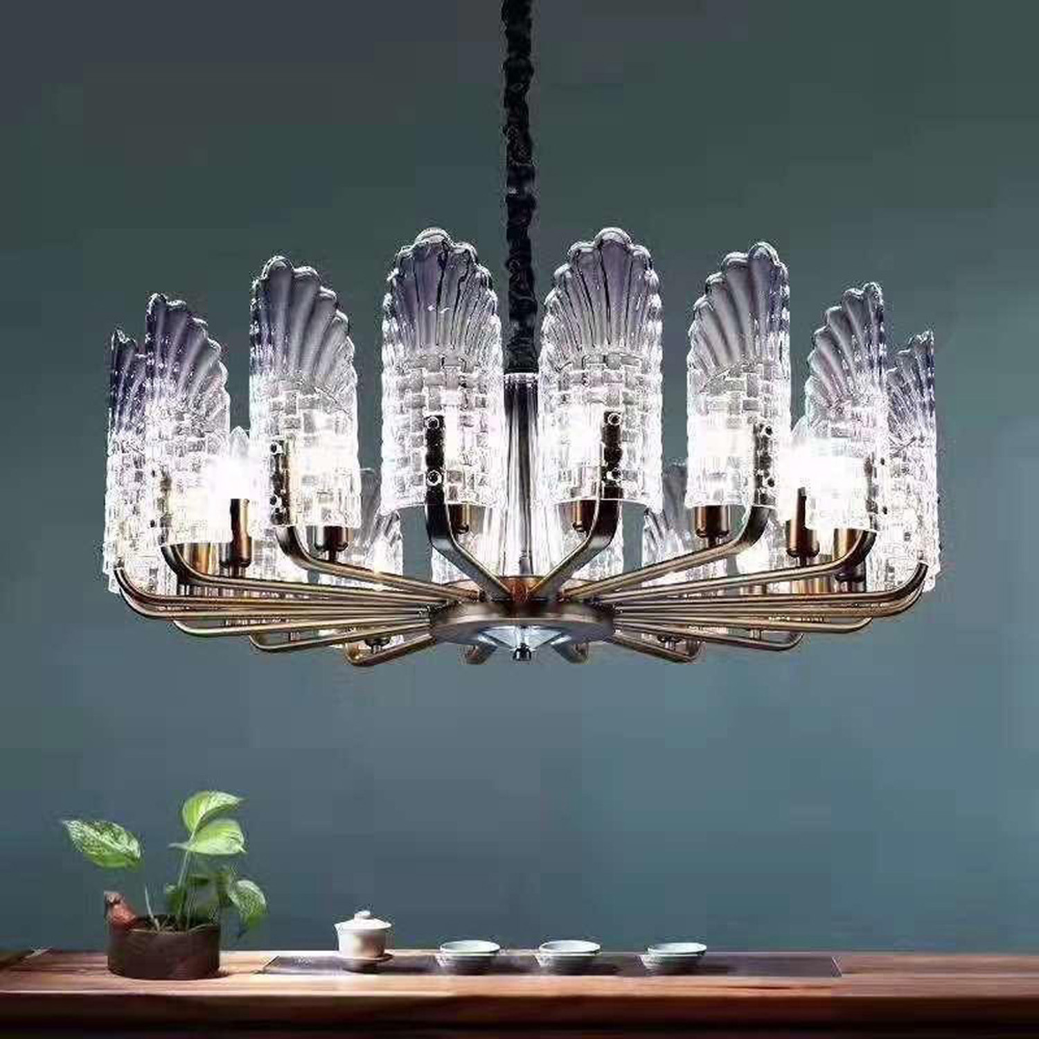 Penna Round Chandelier | FCI Custom Lighting