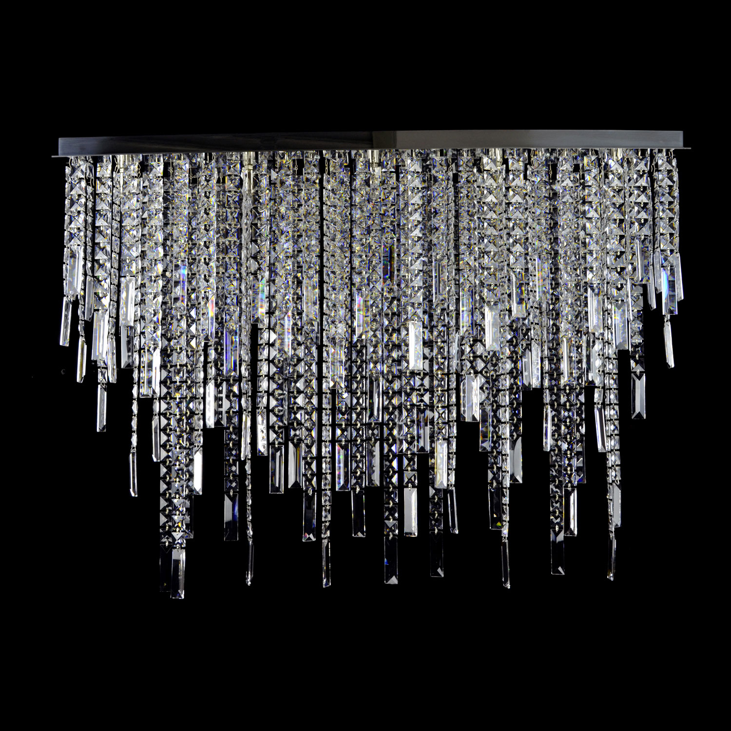 Pioggia Di Crystal Chandelier | FCI Custom Lighting