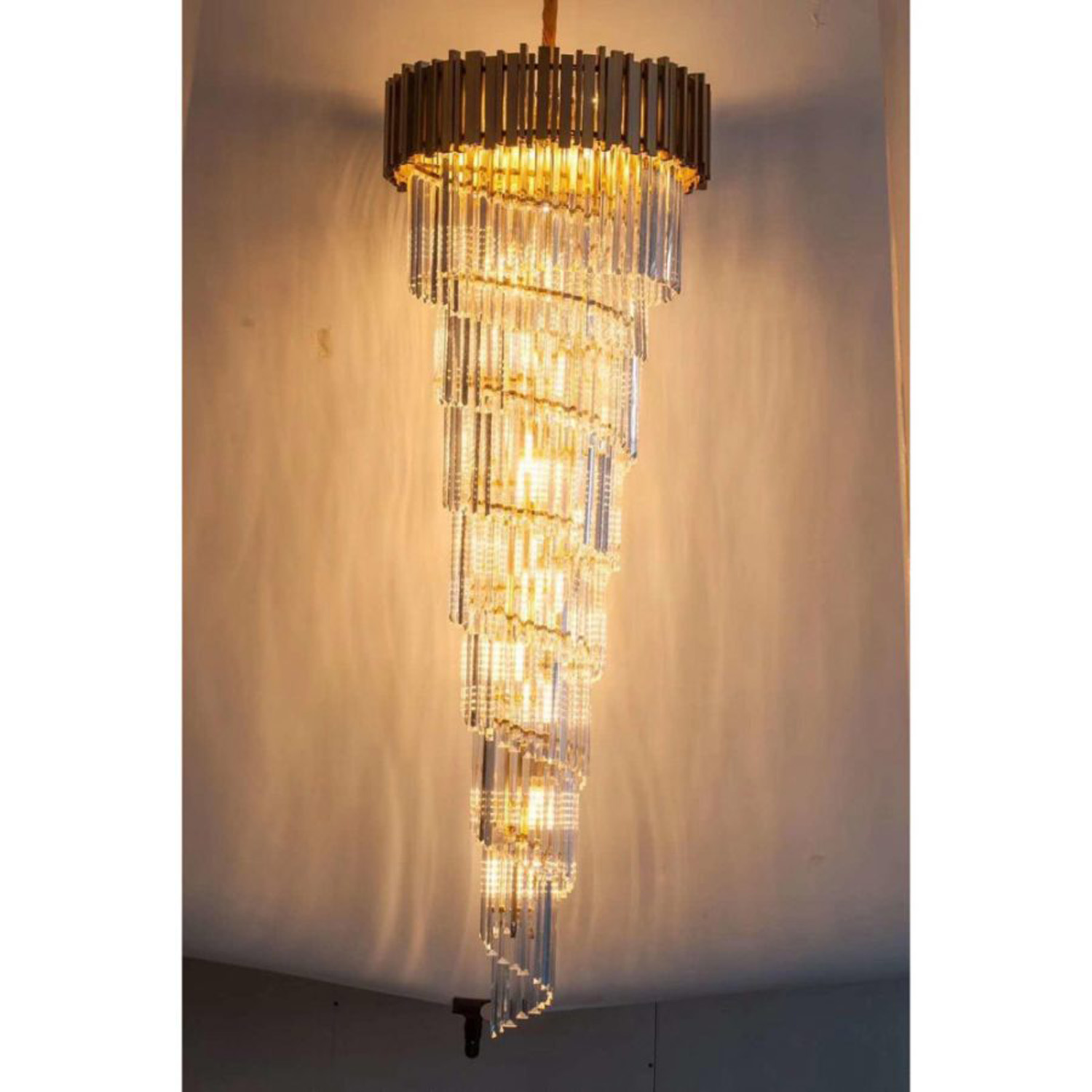 Whrilpool Chandelier | FCI Custom Lighting