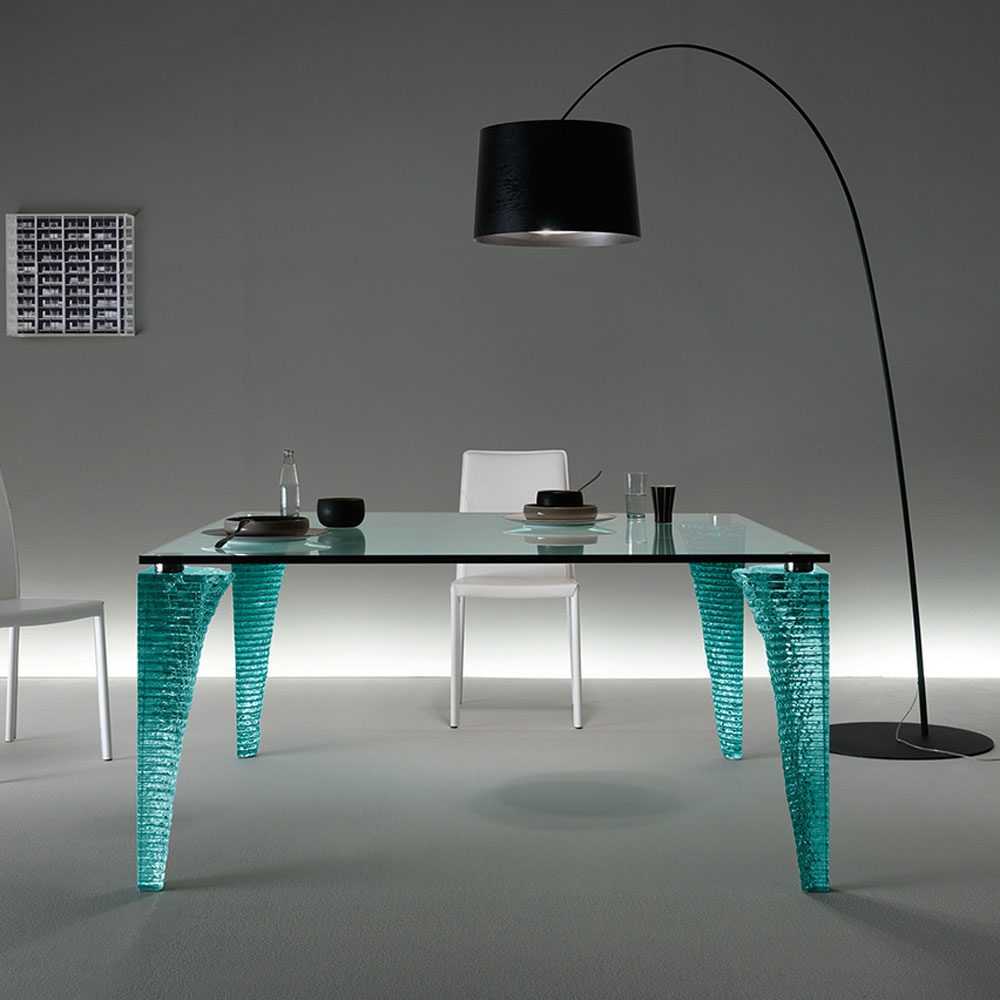 Atlas Dining Table by Fiam Italia