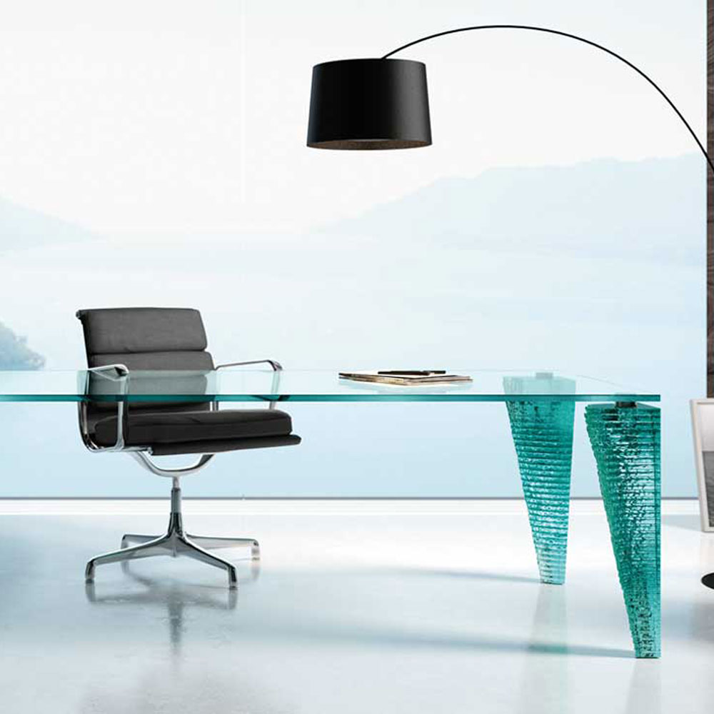Atlas Office Desk by Fiam Italia