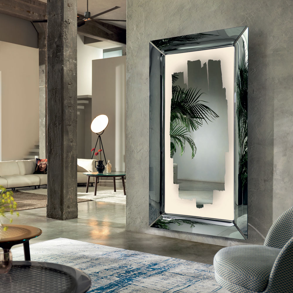 Caadre With Light Mirror by Fiam Italia