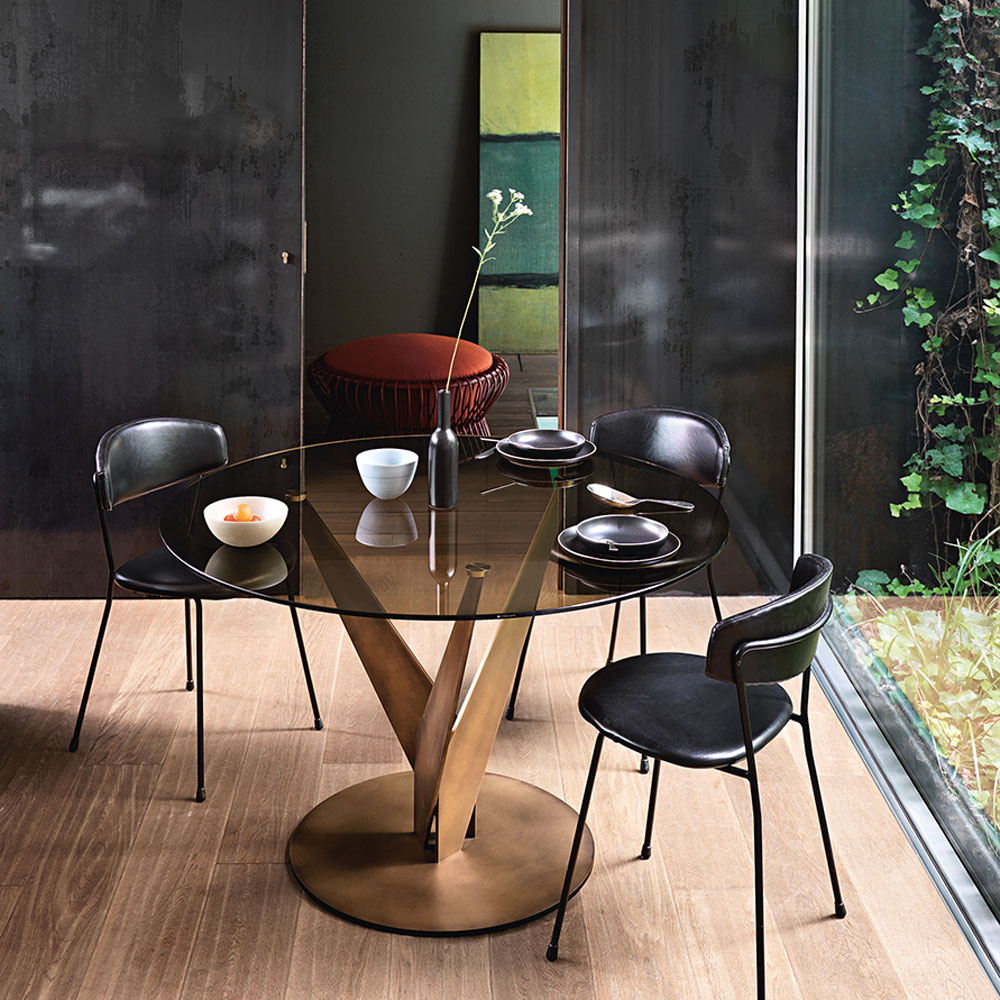 Epsylon Dining Table by Fiam Italia