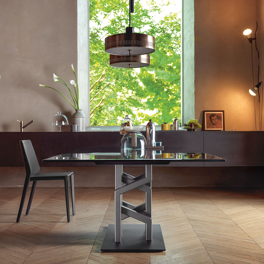 Kighi Dining Table by Fiam Italia