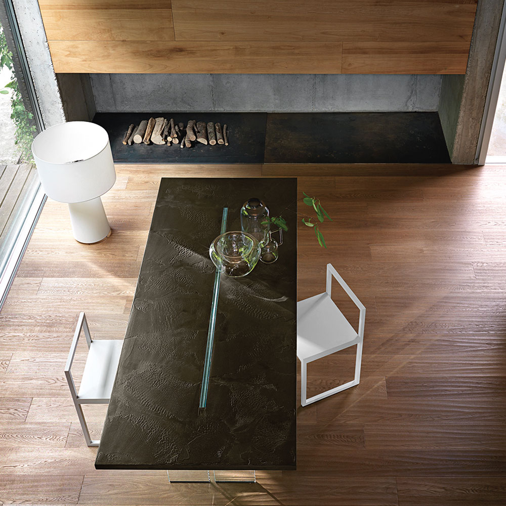 Llt Wood Dining Table by Fiam Italia