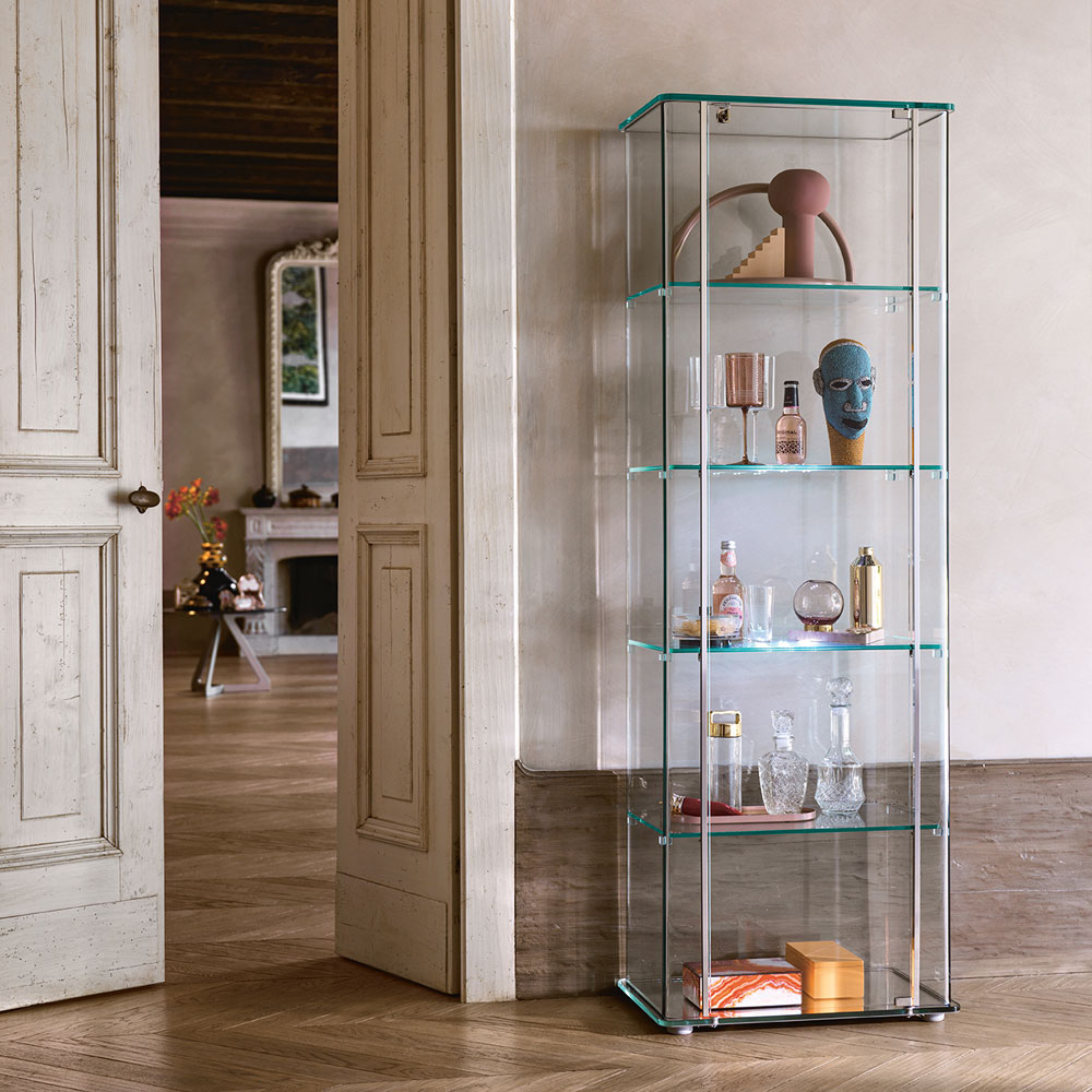Milo Day Display Cabinets by Fiam Italia