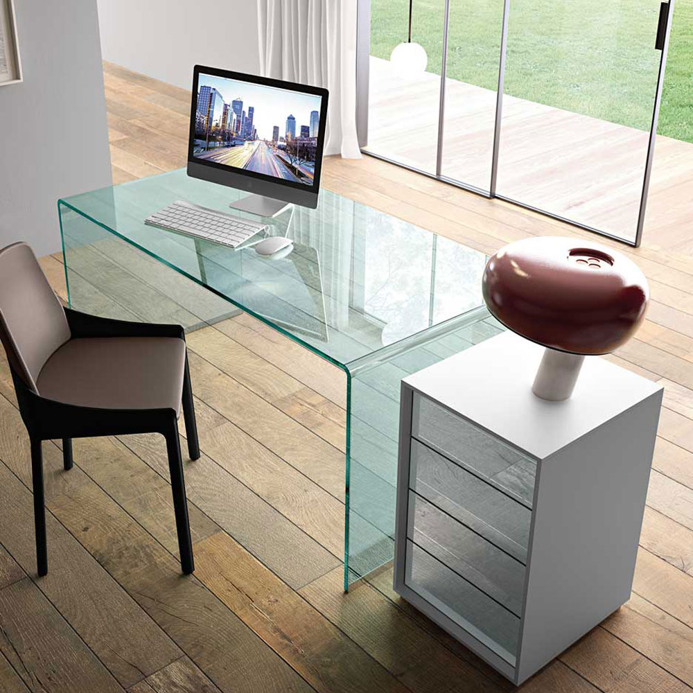 Rialto Office Desk by Fiam Italia
