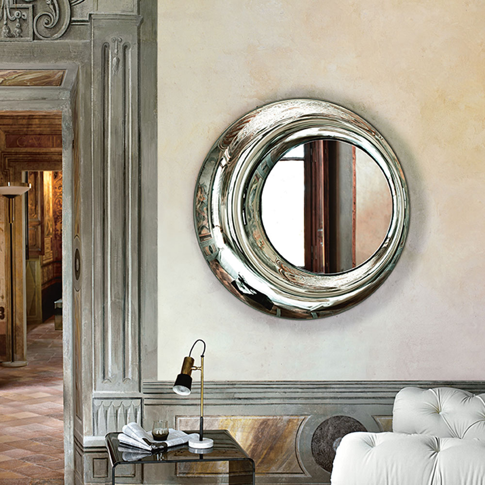 Rosy Mirror by Fiam Italia