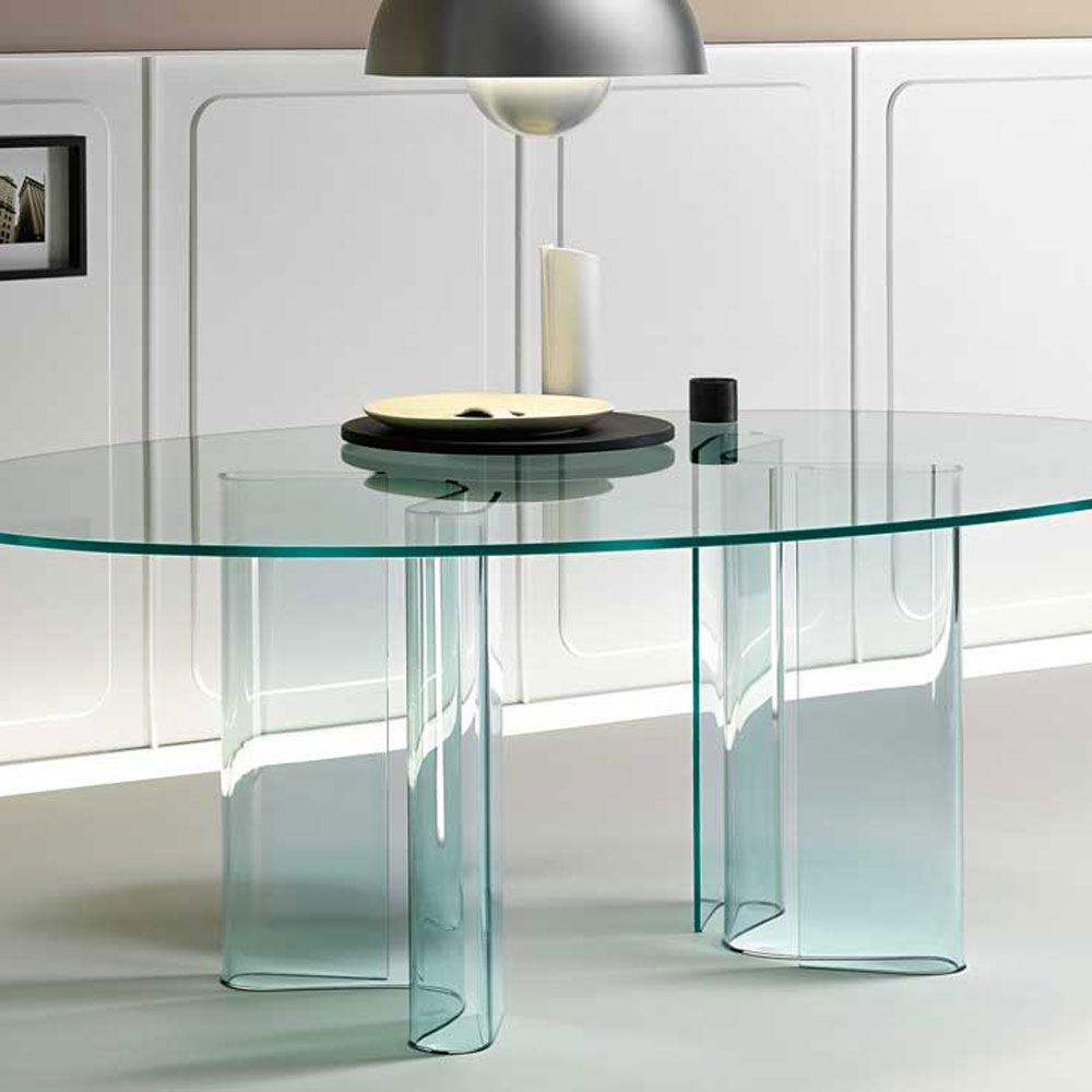 Sahara Dining Table by Fiam Italia