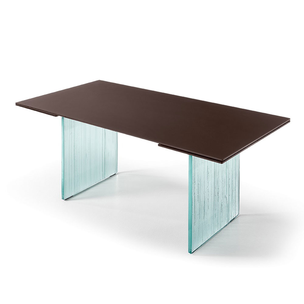 Waves Dining Table by Fiam Italia