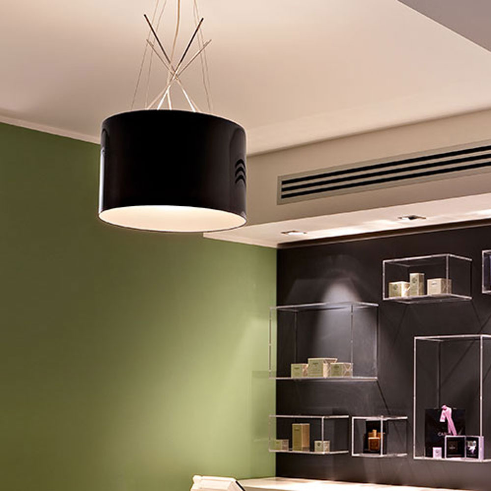 Ray Suspension Lamp by Flos
