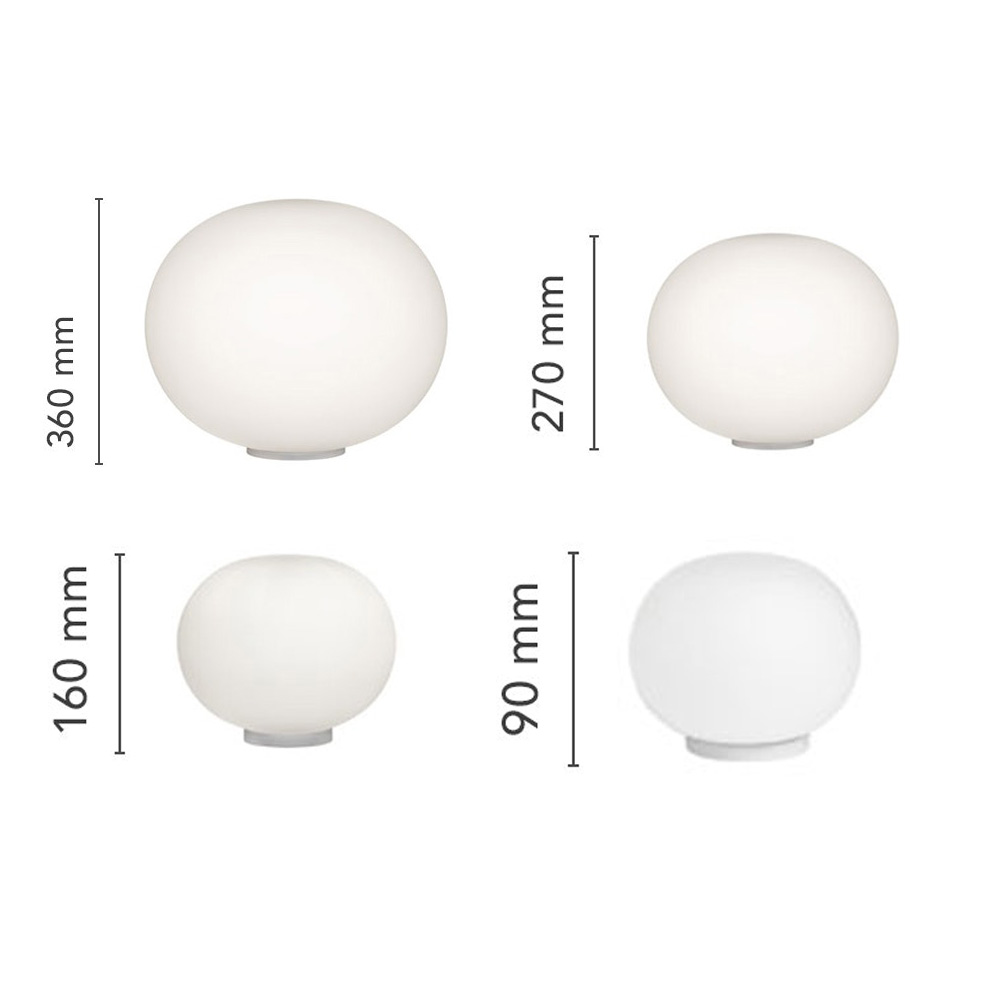 Glo-Ball 2 Table Lamp by Flos