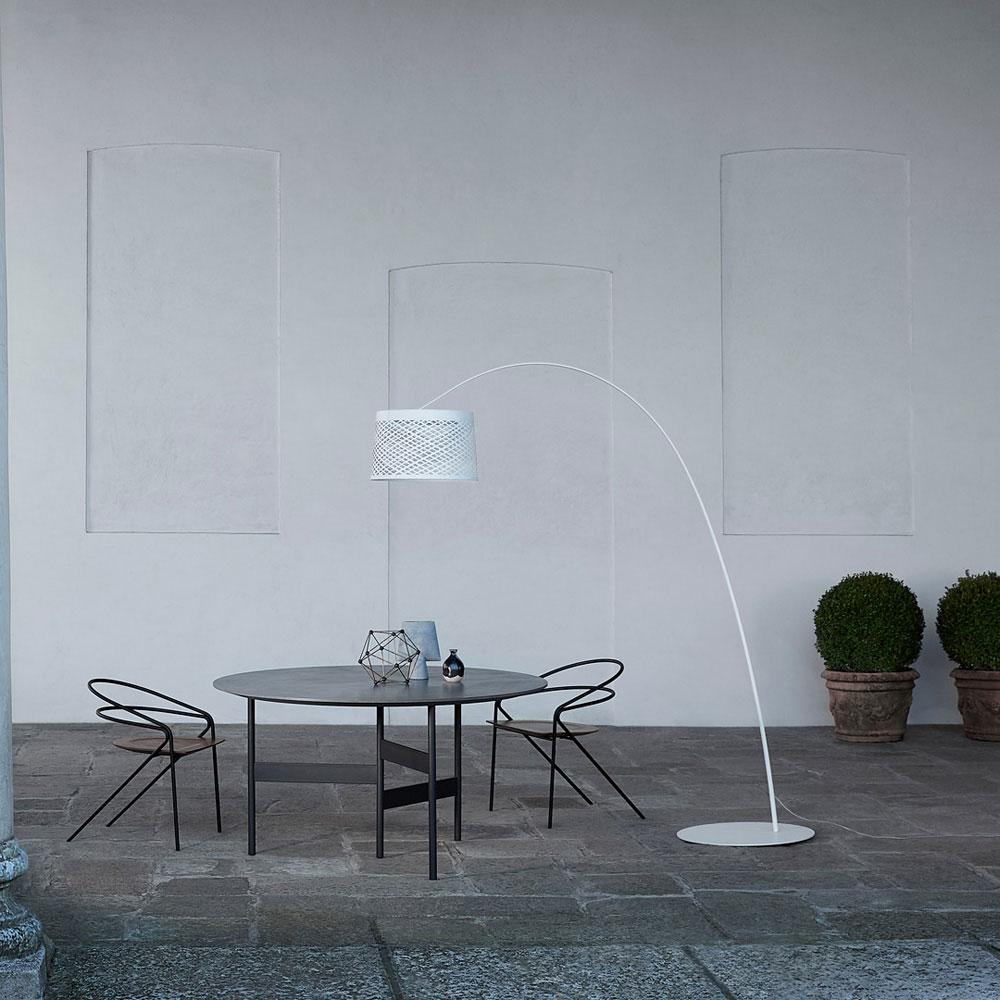 Twiggy Grid Floor Lamp by Foscarini