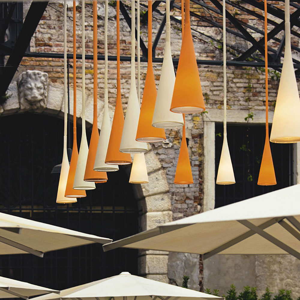 Uto Outdoor Suspension Lamp by Foscarini