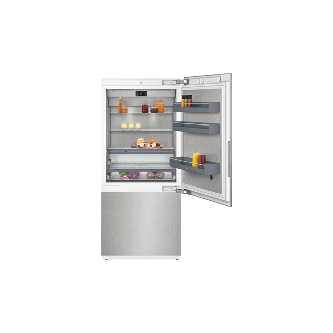 vario fridge freezer combination 400 series rb492304 by. Black Bedroom Furniture Sets. Home Design Ideas