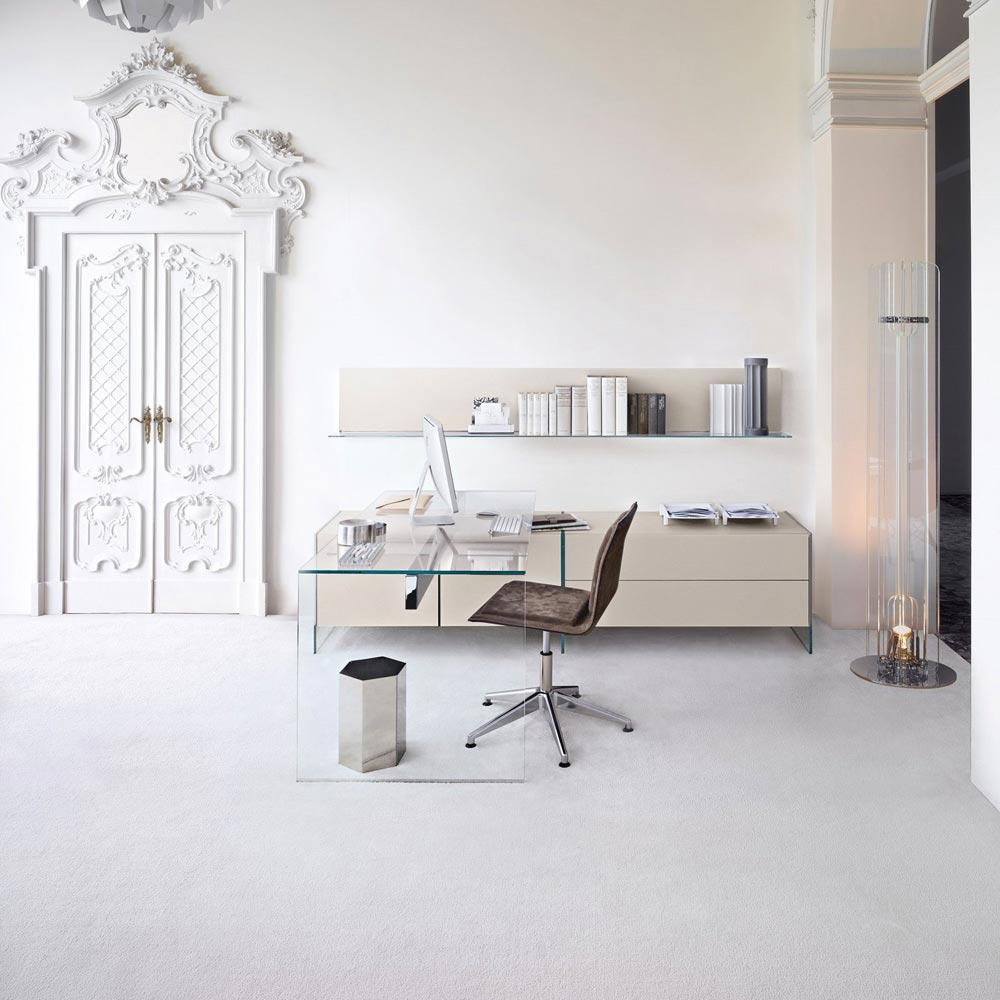 Air 1 Office Desk by Gallotti & Radice
