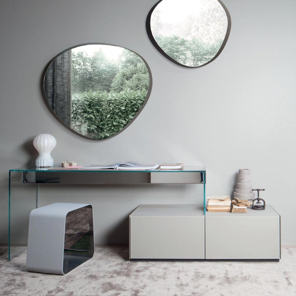 Air 1 Up Office Desk by Gallotti & Radice