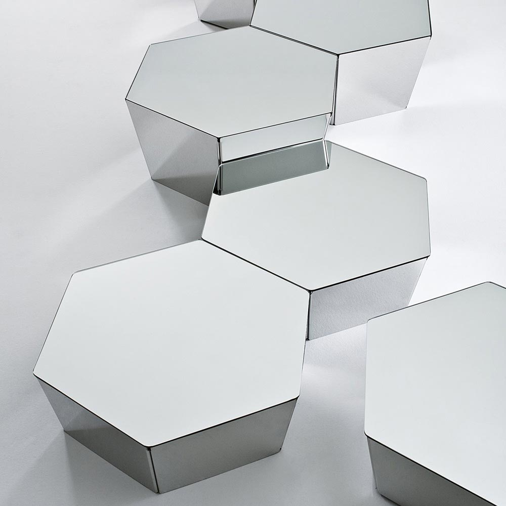 Basalt Coffee Table by Gallotti & Radice