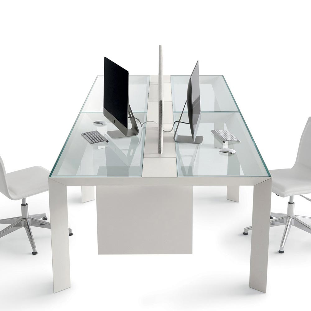 Koy System Office Desk by Gallotti & Radice
