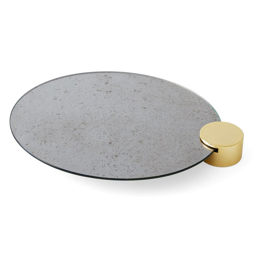 Odette Oval Tray by Gallotti & Radice