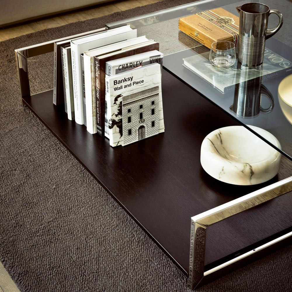 Square Case 2 Coffee Table by Gallotti & Radice