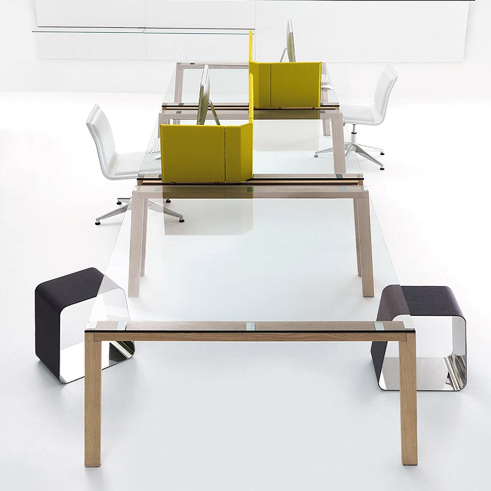 Wgs Double Office Desk by Gallotti & Radice