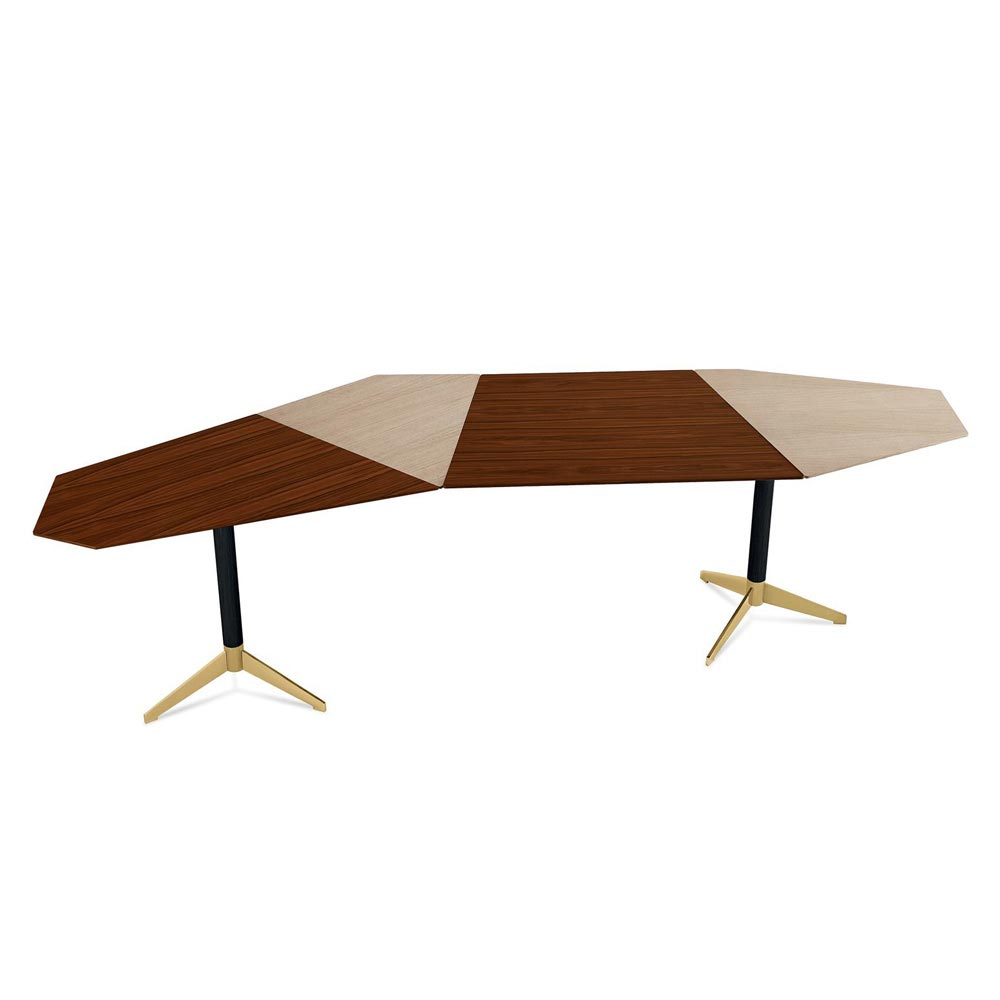 Zen Office Desk by Gallotti & Radice