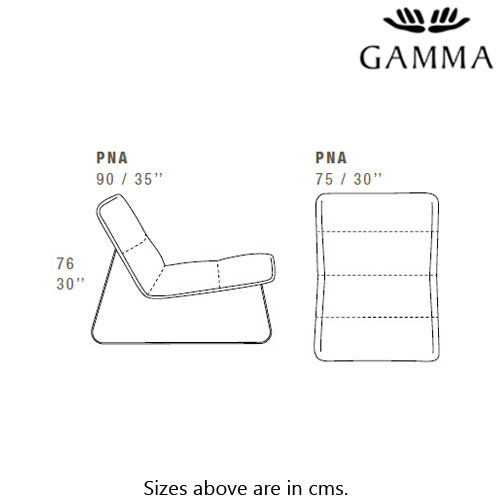 Loft Occasional Chair by Gamma and Dandy