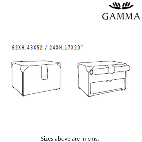 K06 Bedside Table by Gamma and Dandy