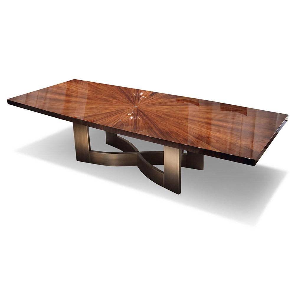 Coliseum Rectangular Dining Table by Giorgio Collection